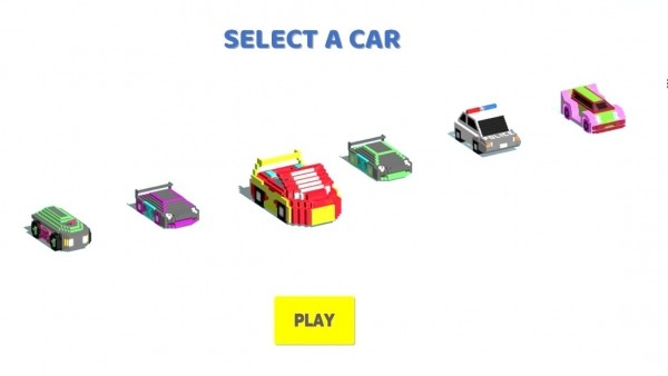 Circle Crash - Blocky Highway Android Game Image 1