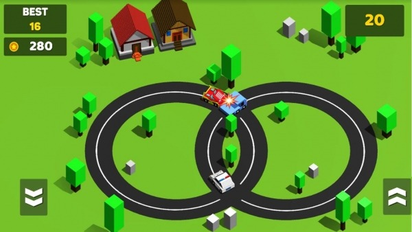 Circle Crash - Blocky Highway Android Game Image 3