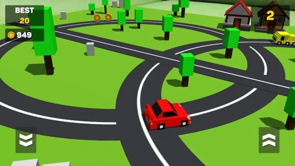 Circle Crash - Blocky Highway Android Game Image 4