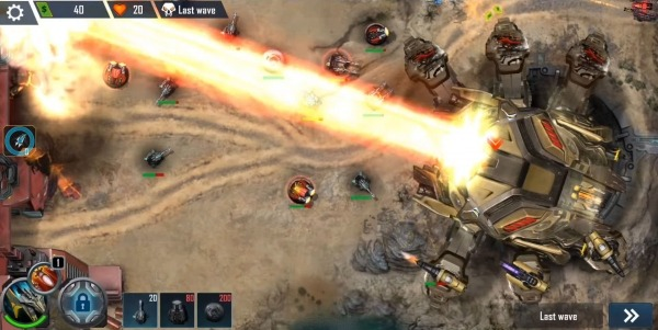 Defense Legend X: Sci-Fi Tower Defense Android Game Image 2
