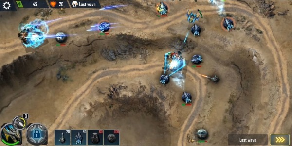 Defense Legend X: Sci-Fi Tower Defense Android Game Image 3