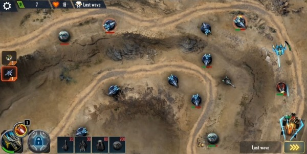 Defense Legend X: Sci-Fi Tower Defense Android Game Image 4