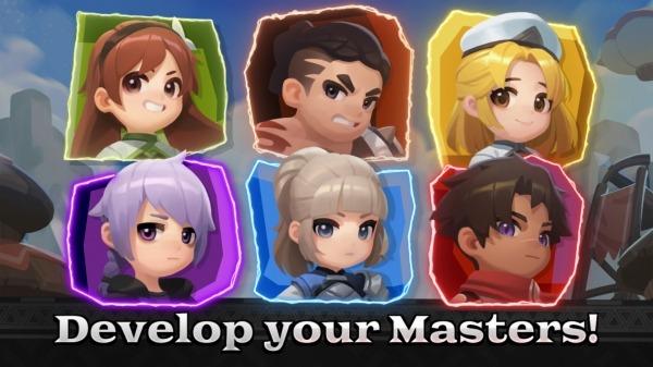 Raid Masters Online - BOSS RAID Android Game Image 1