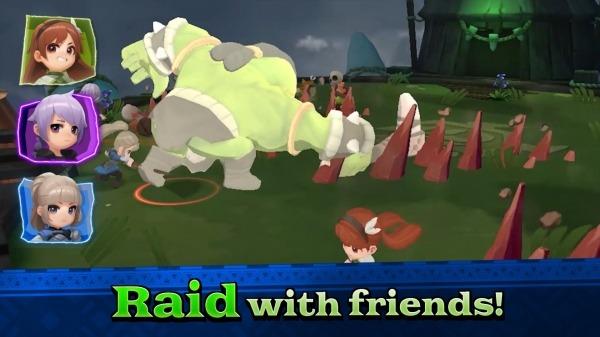 Raid Masters Online - BOSS RAID Android Game Image 3