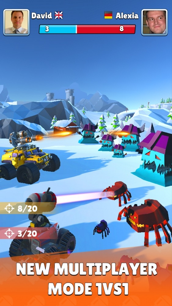 Battle Cars: Monster Hunter Android Game Image 2
