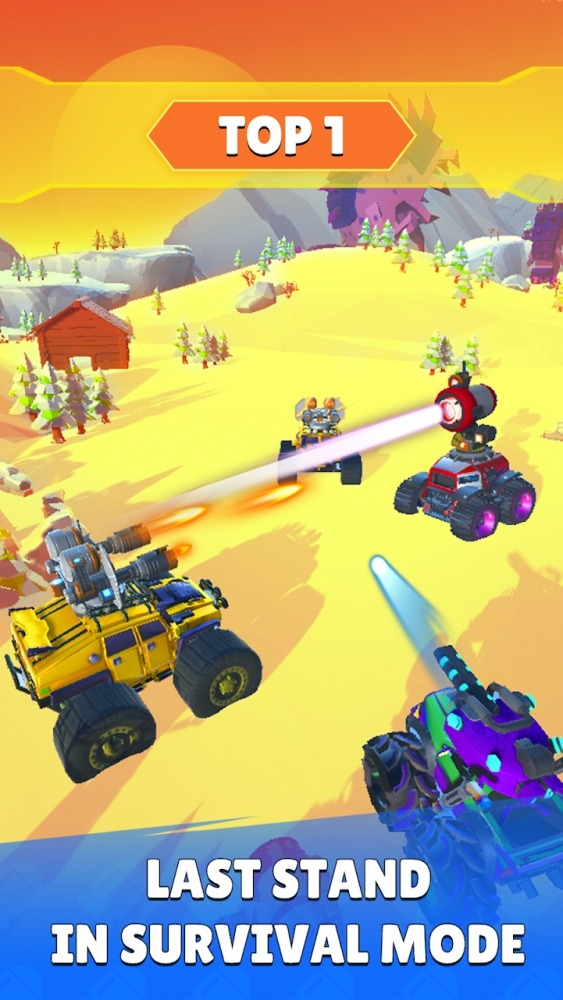 Battle Cars: Monster Hunter Android Game Image 3