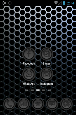 Phoney Icon Pack Android Theme Image 2