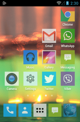 192 Square Lite Icon Pack Android Theme Image 3