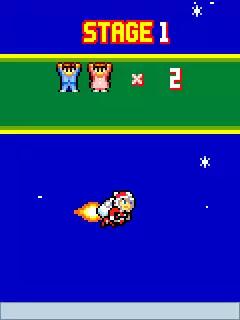 Megaman: Rocket Christmas Java Game Image 2