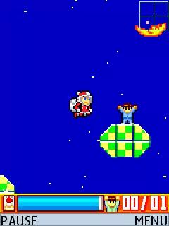 Megaman: Rocket Christmas Java Game Image 3