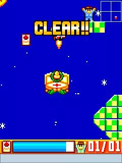 Megaman: Rocket Christmas Java Game Image 4