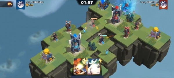 Forts Mobile Android Game Image 3