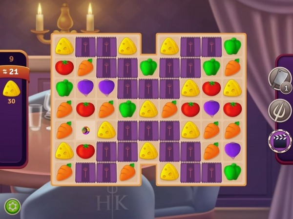 Hell's Kitchen: Match & Design Android Game Image 2