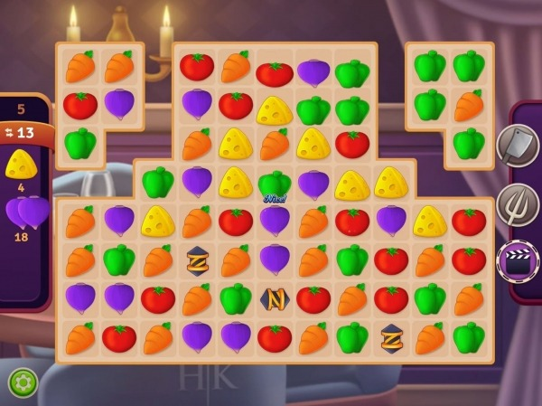 Hell's Kitchen: Match & Design Android Game Image 4