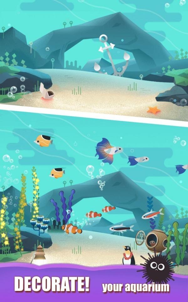 Puzzle Aquarium Android Game Image 1
