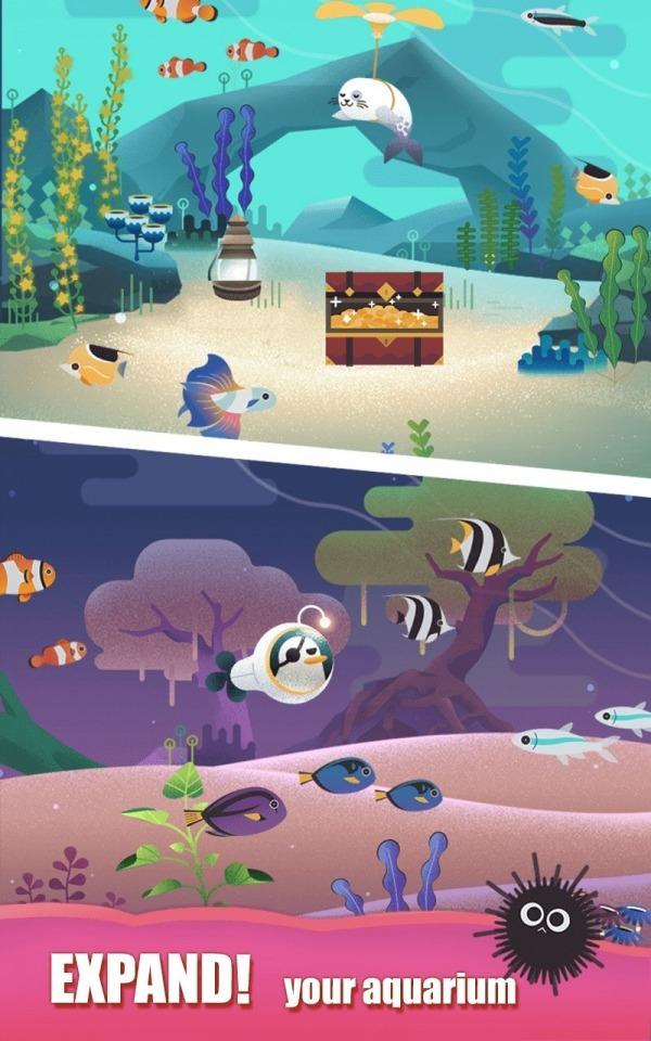 Puzzle Aquarium Android Game Image 2