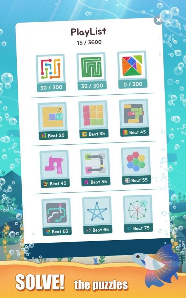 Puzzle Aquarium Android Game Image 3