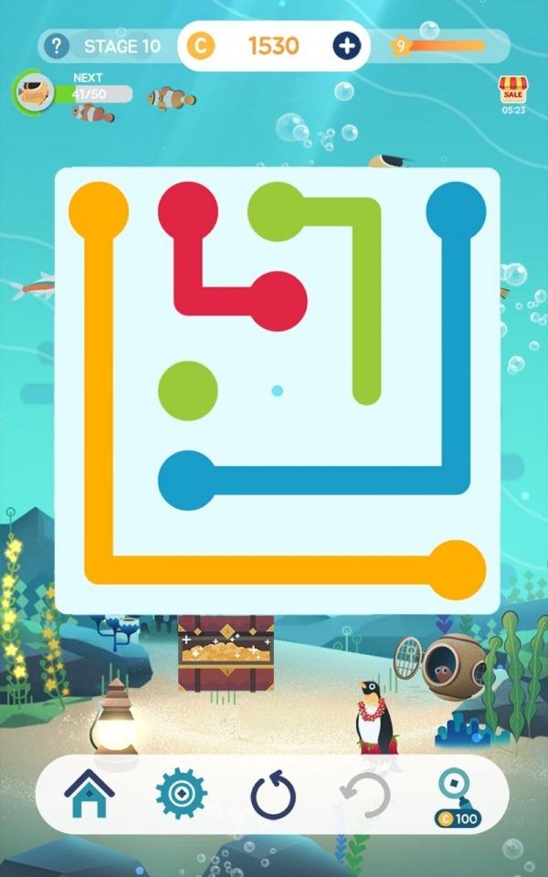 Puzzle Aquarium Android Game Image 4