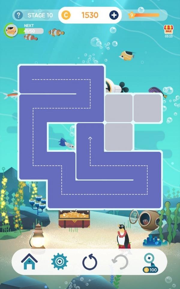 Puzzle Aquarium Android Game Image 5