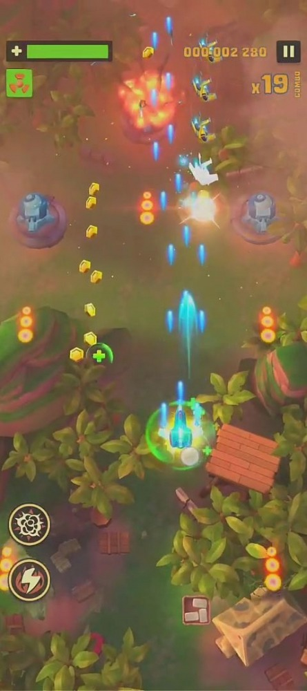 Sky Patrol: Shoot 'em Up Games Android Game Image 2
