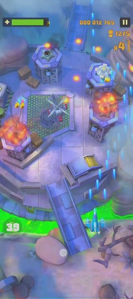 Sky Patrol: Shoot 'em Up Games Android Game Image 4