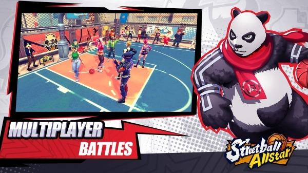 Streetball Allstar: GLOBAL Android Game Image 2
