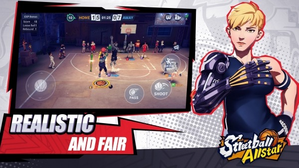 Streetball Allstar: GLOBAL Android Game Image 3