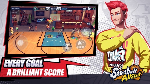 Streetball Allstar: GLOBAL Android Game Image 4