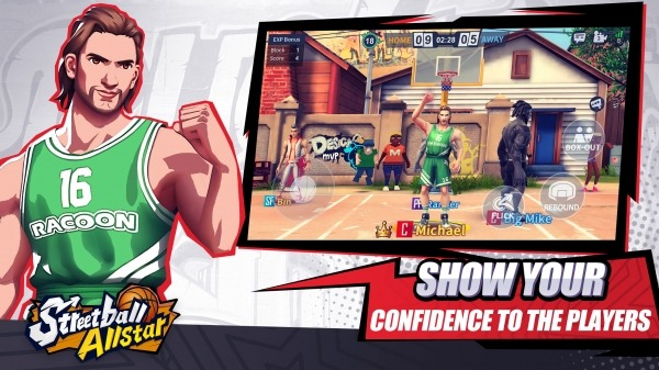 Streetball Allstar: GLOBAL Android Game Image 5