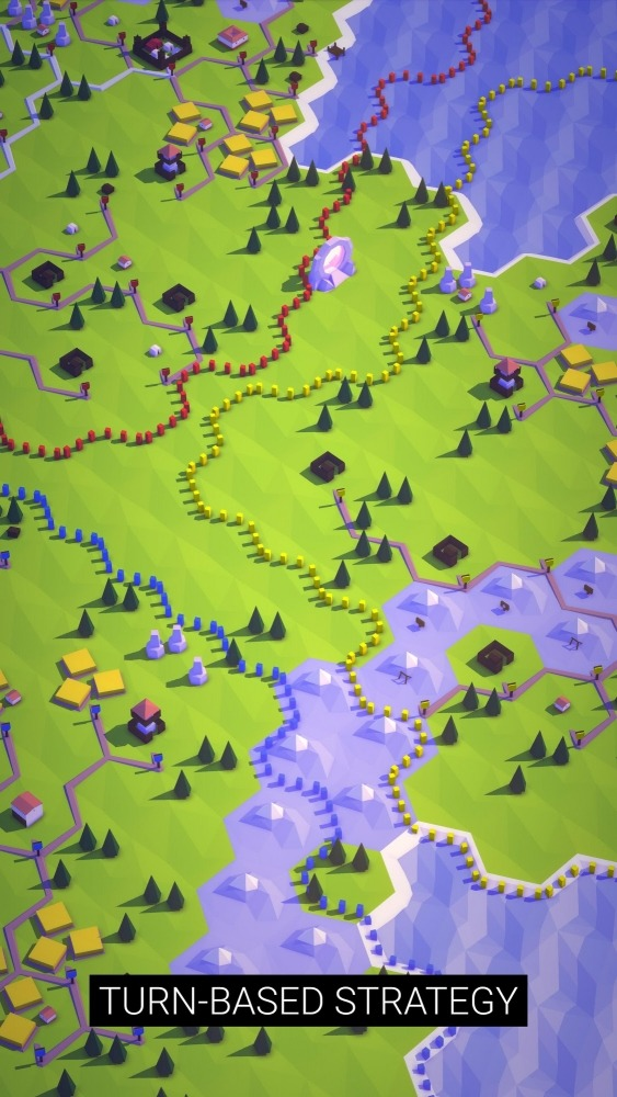 Abstrrkt Explorers - Turn Based Strategy Android Game Image 4