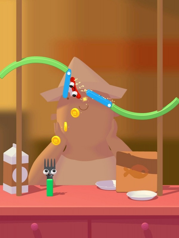 Fork N Sausage Android Game Image 2