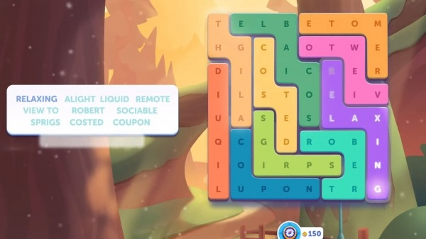 Word Lanes Search: Relaxing Word Search Android Game Image 4