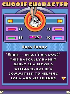 Looney Tunes: Monster Match Java Game Image 4