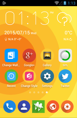 Rondo Icon Pack Android Theme Image 1