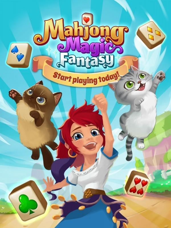 Mahjong Magic Fantasy : Tile Connect Android Game Image 1