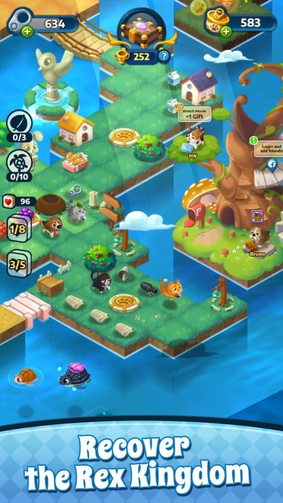 Mahjong Magic Fantasy : Tile Connect Android Game Image 2