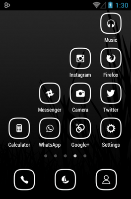 Banded Icon Pack Android Theme Image 3