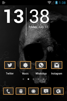 Chalk Board UI Icon Pack Android Theme Image 1