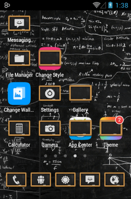 Chalk Board UI Icon Pack Android Theme Image 3