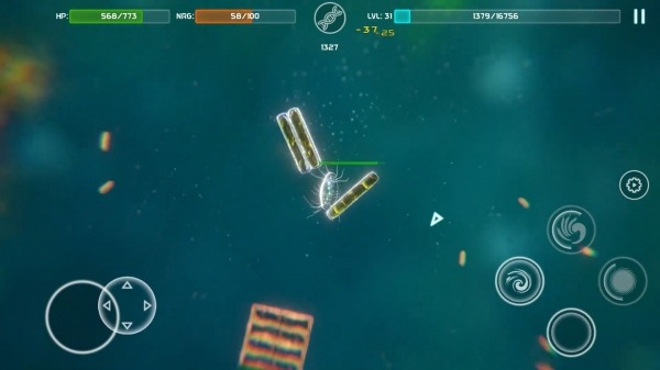 Bionix - Spore & Bacteria Evolution Simulator 3D Android Game Image 4