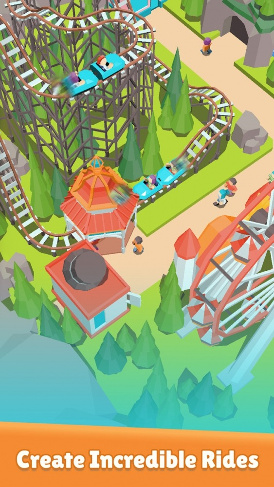 Coaster Builder: Roller Coaster Connect Puzzle Android Game Image 3