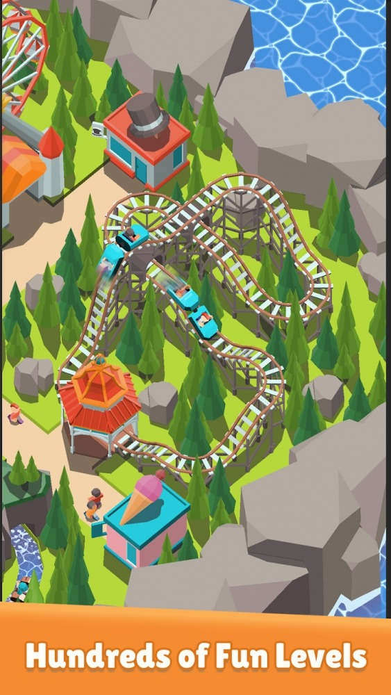 Coaster Builder: Roller Coaster Connect Puzzle Android Game Image 4