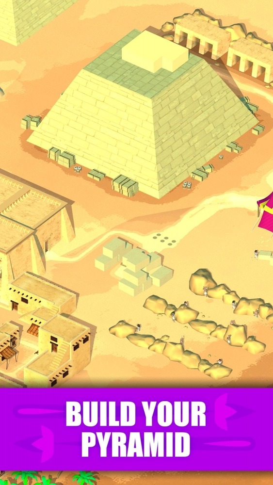Idle Egypt Tycoon: Empire Game Android Game Image 2