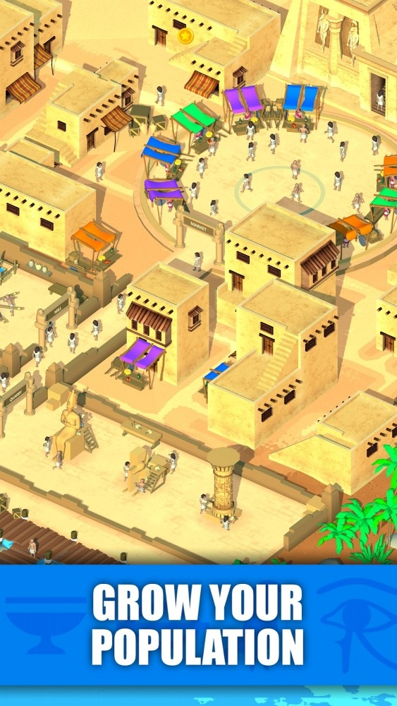 Idle Egypt Tycoon: Empire Game Android Game Image 3