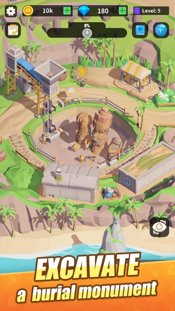 Mini Digger Android Game Image 1