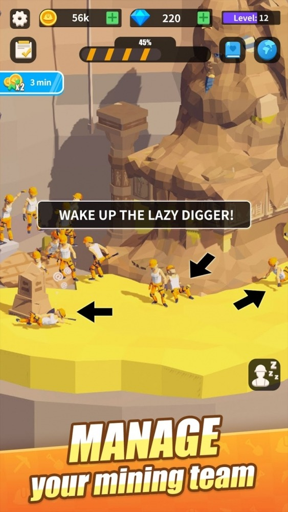 Mini Digger Android Game Image 2