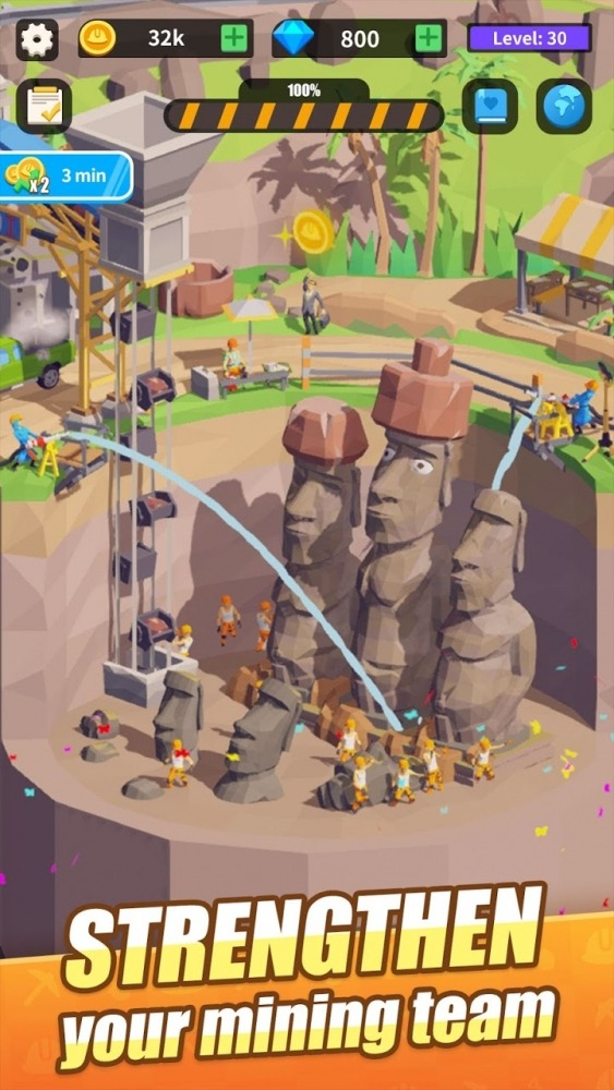 Mini Digger Android Game Image 3