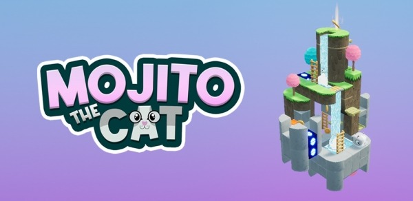 Mojito The Cat: 3D Puzzle Labyrinth Android Game Image 1