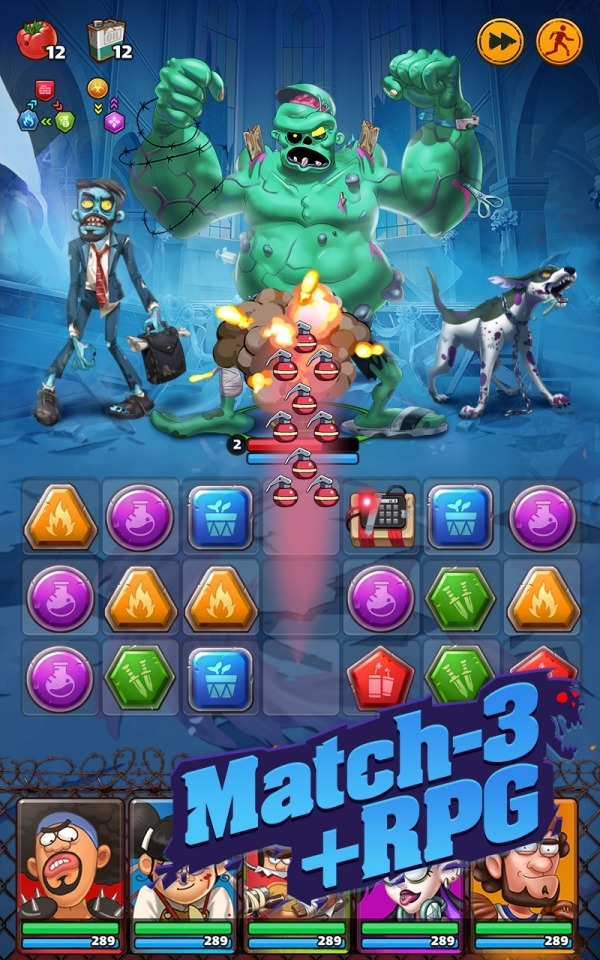 The Matching Dead Android Game Image 2