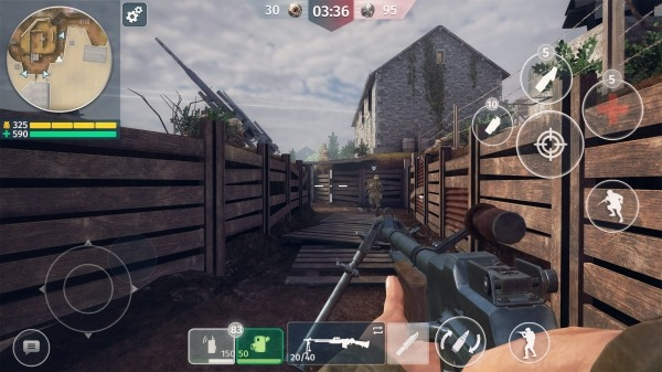 World War 2 - Battle Combat (FPS Games) Android Game Image 3